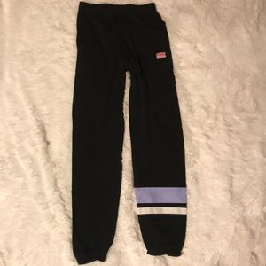 PINK Joggers with pockets, Black, X-Small
